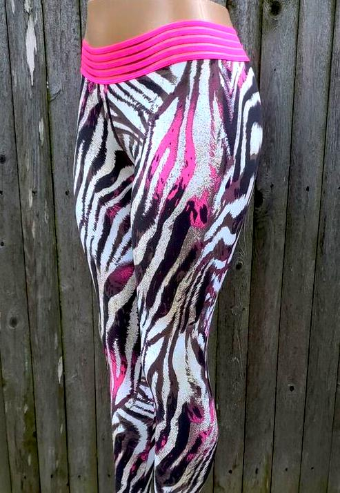 TIGRE PINK (Light supplex) - NYLeggings.com
