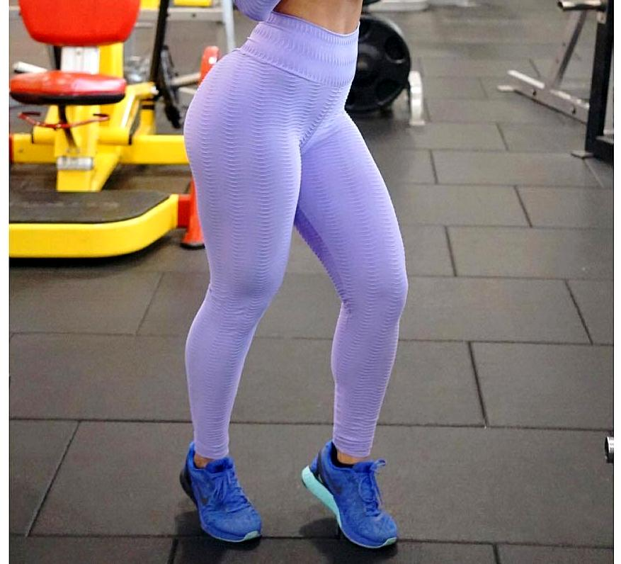 Python Lavender Workout Tights