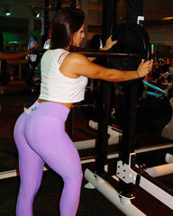 Python Lavender Workout Leggings