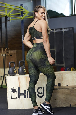 MILI GREEN LEGGINGS