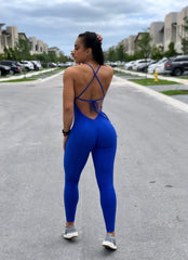 BELL ROYAL BLUE JUMPSUIT