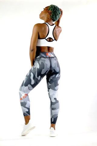 Pixel Camo Workout Tights