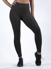 Python Black Workout Pants