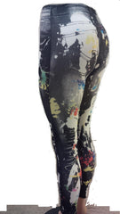 Splatter Workout Pant For Women