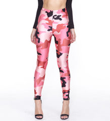 PINK CAMO - NYLeggings.com