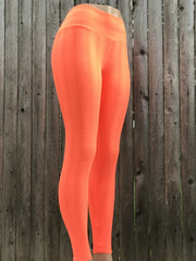Pyhton Orange Gym Tights