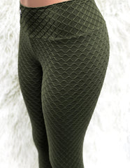 Wave Army Workout Leggings