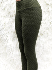Wave Army Workout Tights