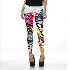 GRAFFITI PRINT - NYLeggings.com