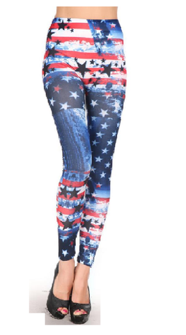 4th of July Leggings