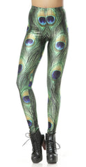 PEACOCK PRINT - NYLeggings.com