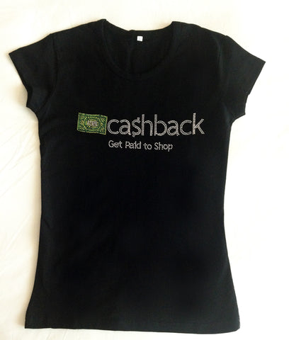 Cashback Bling t-shirt
