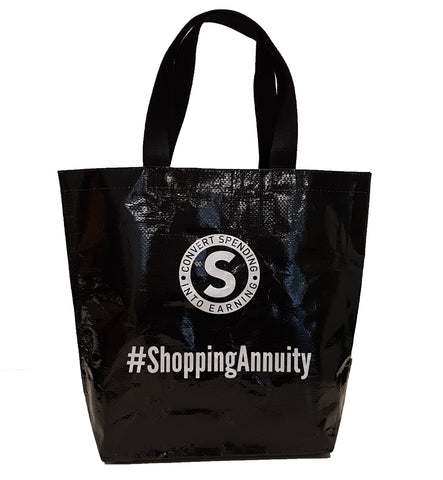 Shopping Annuity Tote Bag