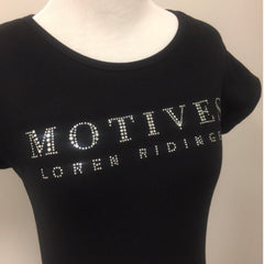Motives® Rhinestone Tee