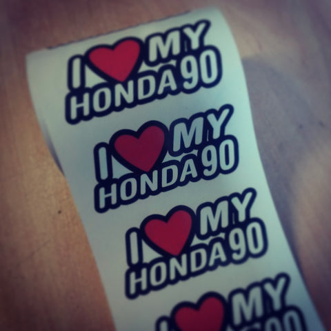 I heart my honda 90