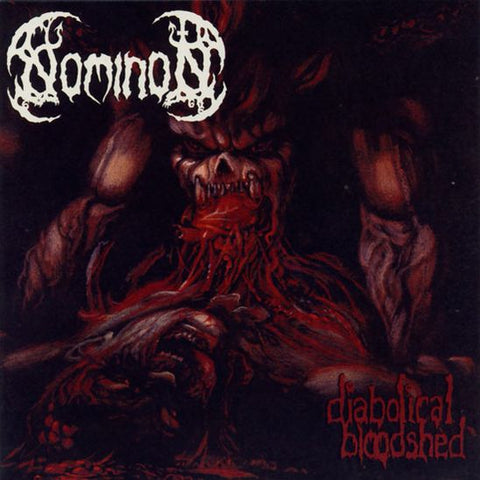 NOMINON: Diabolical Bloodshed CD  (sealed, bonus songs)