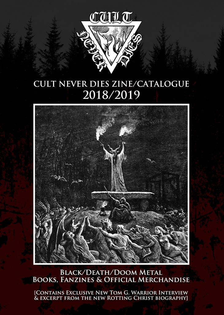 CULT NEVER DIES ZINE/CATALOGUE 2018/2019   [FREE]