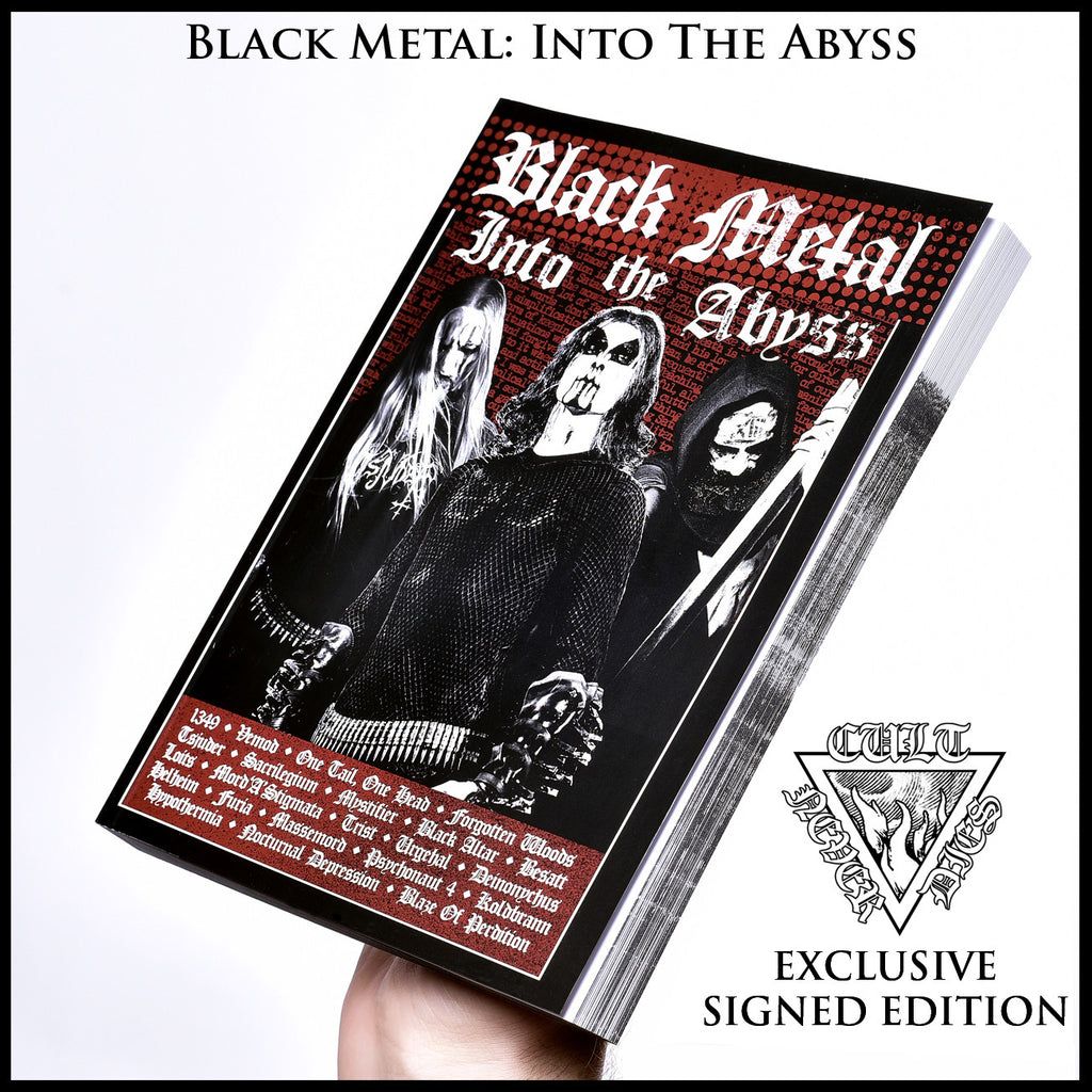 BLACK METAL: INTO THE ABYSS, signed and numbered by author  [STANDARD EDITION OR 2 BOOK BOXSET]  [published 2016]