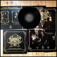 ABRUPTUM: In Umbra Malitiae Ambulabo... LP (inc. insert, A2 poster. Gold ink)