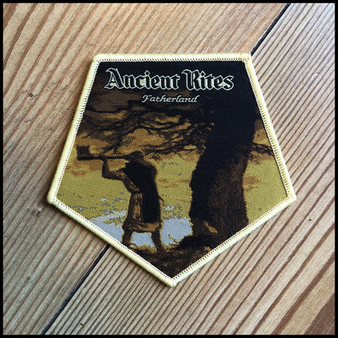 Official ANCIENT RITES: FATHERLAND patch