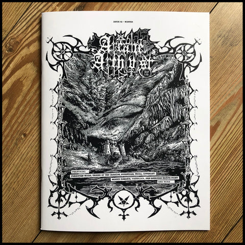 ARCANE ARCHIVIST fanzine issue 2 (old school black metal zine)