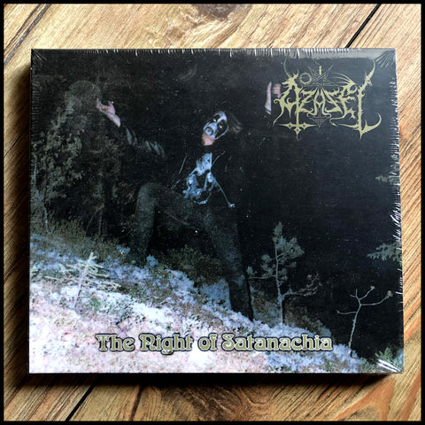 AZAZEL: The Night Of Satanachia CD digipack (sealed)