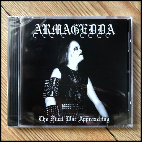ARMAGEDDA: The Final War Approaching CD (sealed)