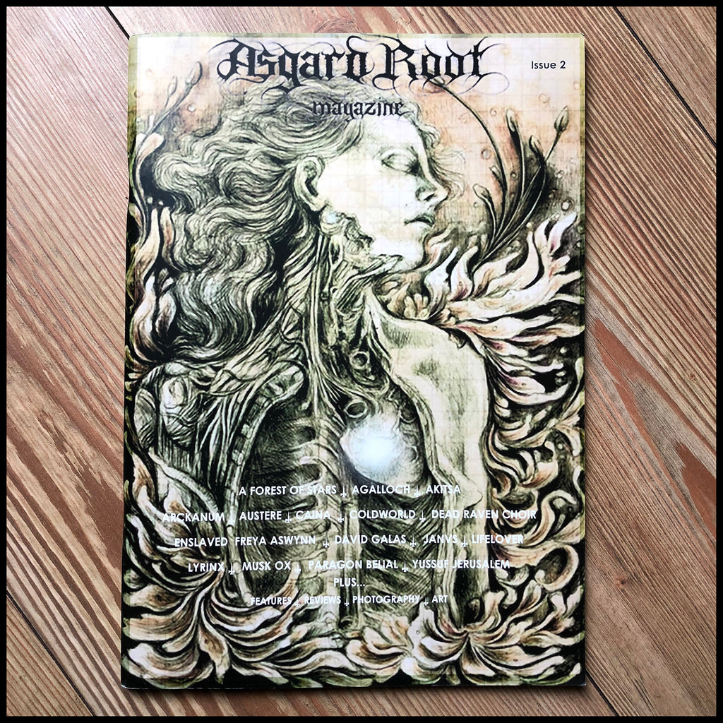 ASGARD ROOT magazine #2 (unread copies from 2009, feat. Lifelover, Coldworld, Agalloch, Arckanum, Enslaved & many more