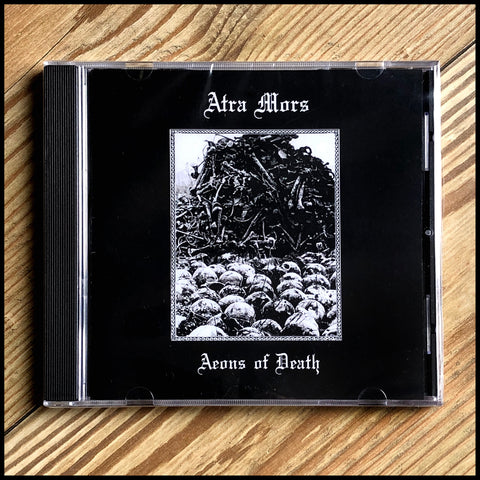 ATRA MORS: Aeons of Death CD  (sealed)