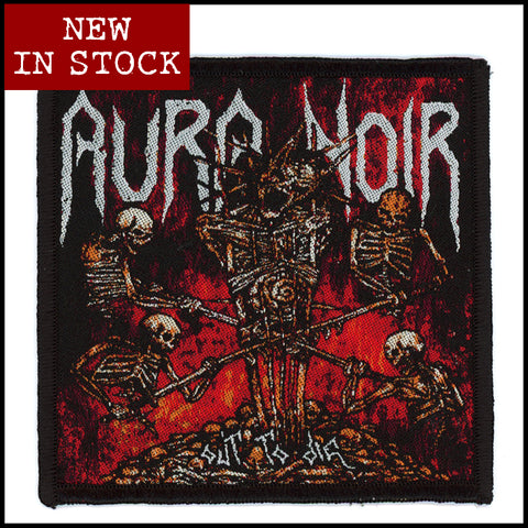 Official AURA NOIR: 'Out To Die' patch