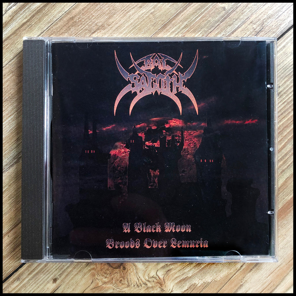 BAL-SAGOTH: A Black Moon Broods Over Lemuria CD (original unplayed version)
