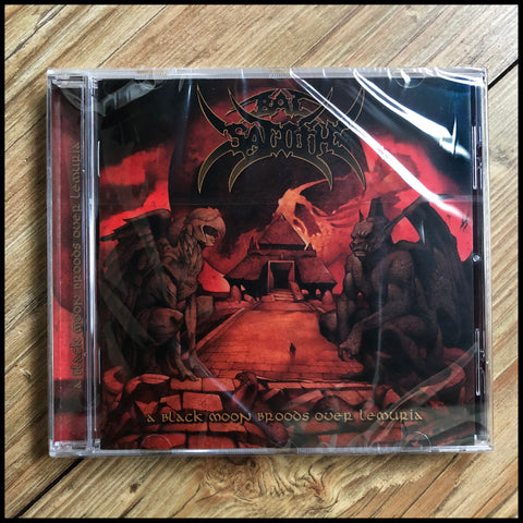 BAL-SAGOTH: A Black Moon Broods Over Lemuria CD (2016 remastered reissue, sealed)