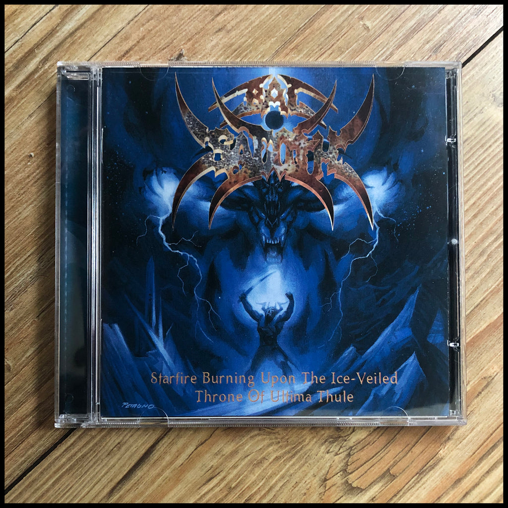 BAL-SAGOTH: Starfire Burning Upon the Ice-Veiled Throne... CD (original unplayed version)