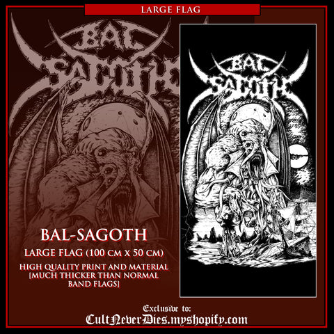 NEW PRE-ORDER [15 October 2017] : BAL-SAGOTH - large art flag