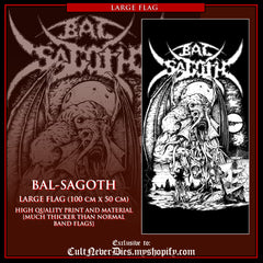 NEW: BAL-SAGOTH - large art flag