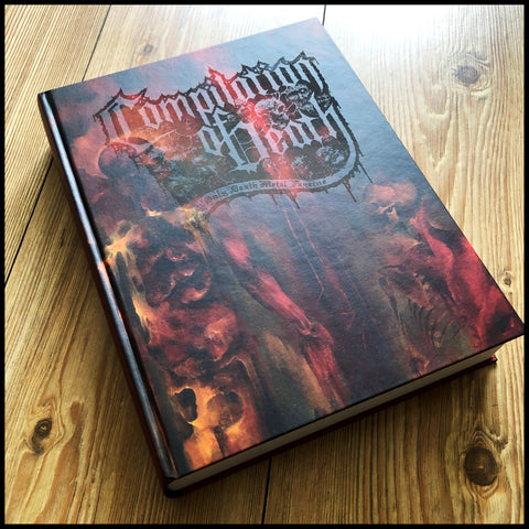 COMPILATION OF DEATH 4 - ridiculously HUGE hardback of death metal, doom metal & more.
