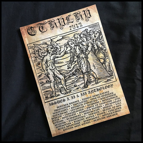CTHULHU ZINE: Issues 1, 2 & 3 Anthology [black/death/war metal zine collection]
