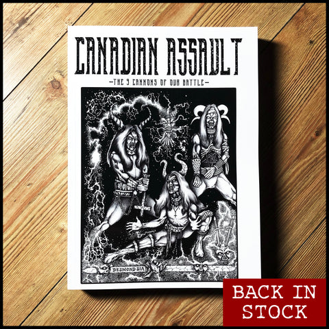 Pre-order [20th October] CANADIAN ASSAULT: 9 CANONS OF OUR BATTLE zine anthology 1998 – 2005