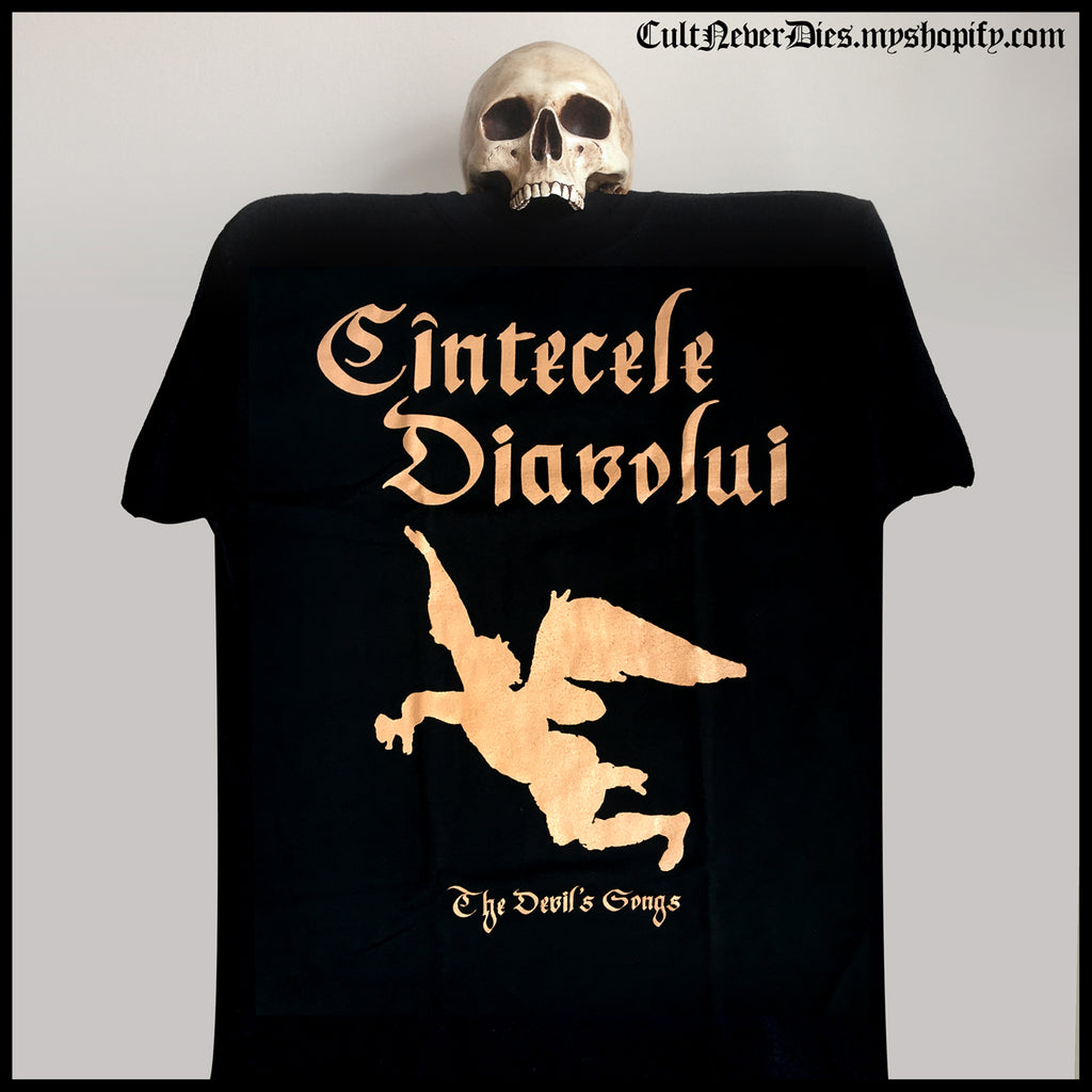 CINTECELE DIAVOLUI 'The Devil's Songs' shirt