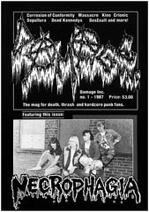 Ultra Damaged zine / black metal fanzine / death metal fanzine / metal fanzine]
