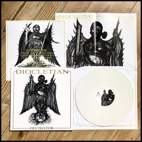DIOCLETIAN: Decimator EP (white vinyl, A2 poster, limited to 250 copies)