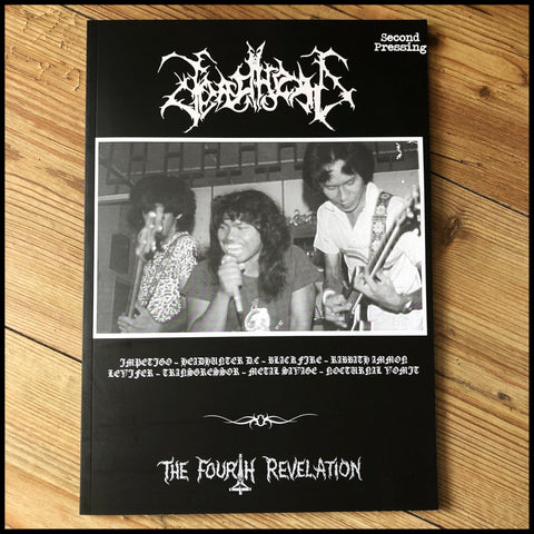DEADHEAD #4 zine  (Impetigo, Headhunter DC etc)
