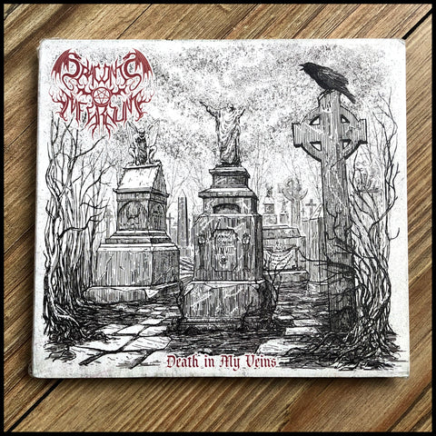 DRACONIS INFERNUM: Death In My Veins CD digipack (inc. bonus tracks)