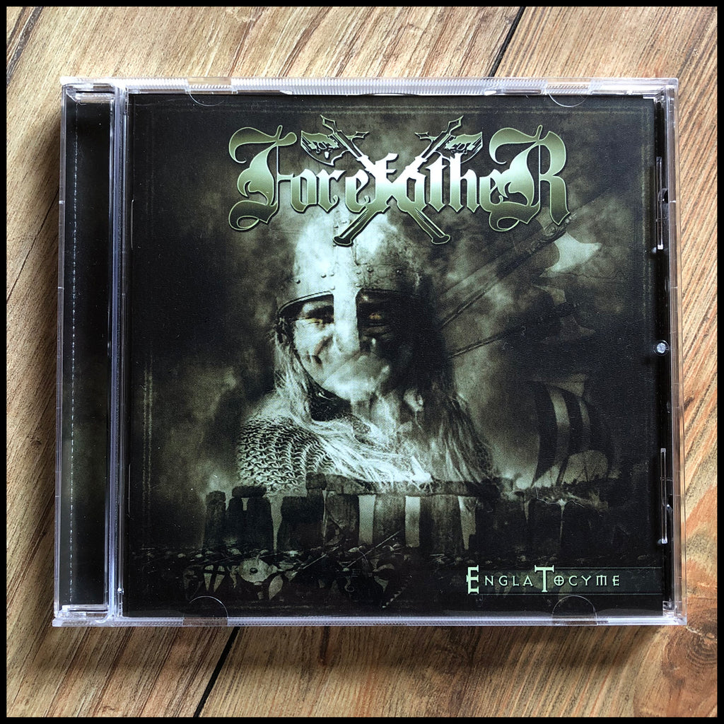 FOREFATHER: Engla Tocyme CD  (reissue, remastered, includes bonus track)