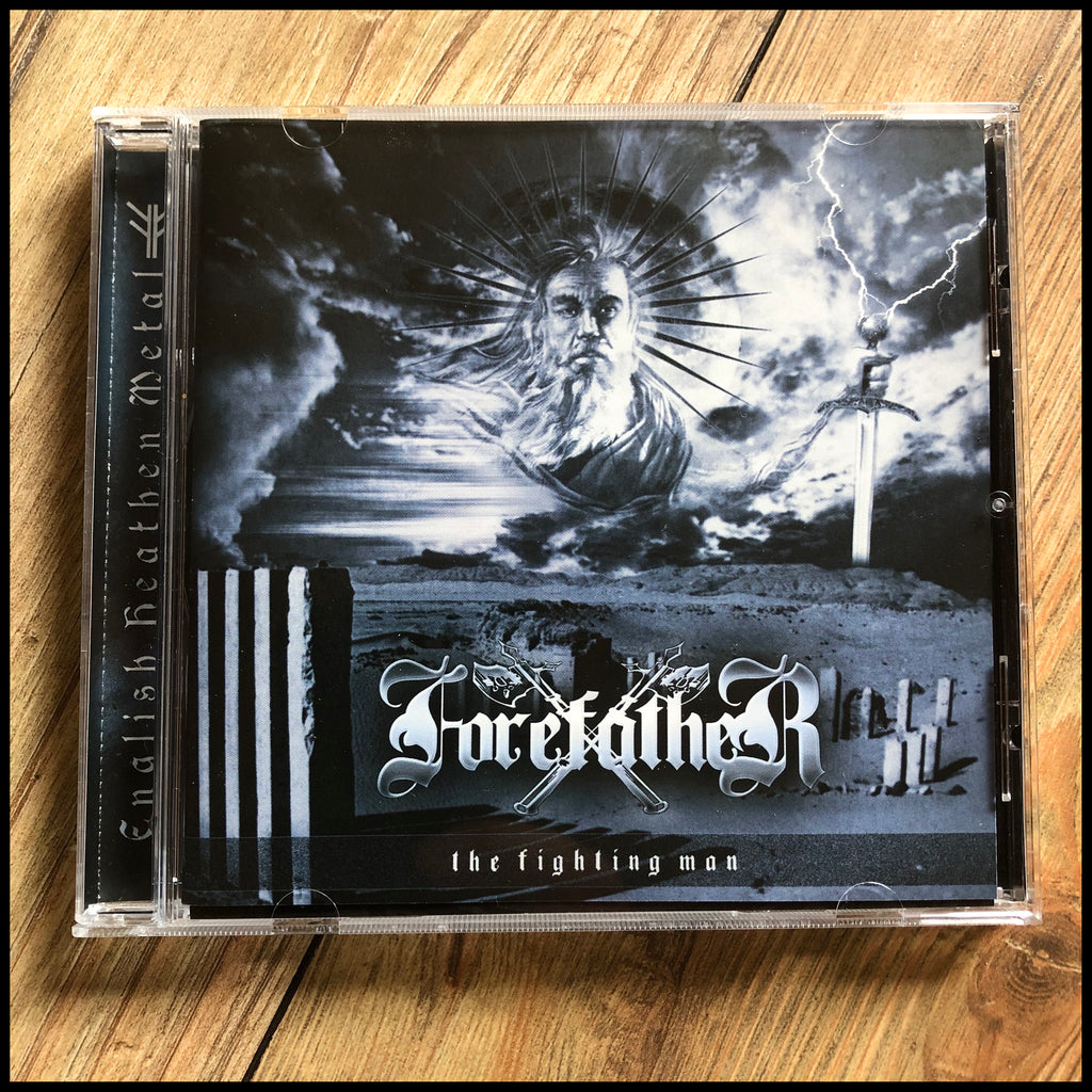 FOREFATHER: The Fighting Man CD (reissue, remastered, includes bonus track)