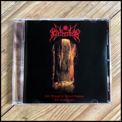GEHENNA: Seen Through The Veils Of Darkness (The Second Spell) CD (original release, unplayed)