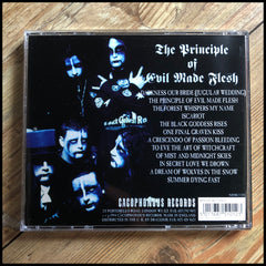 CRADLE OF FILTH: The Principle Of Evil Made Flesh CD (Cacophonous Records, unplayed)