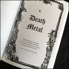 Blood Fire Death - Swedish metal book