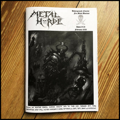 METAL HORDE fanzine issue 25 (feat. Cult Never Dies)