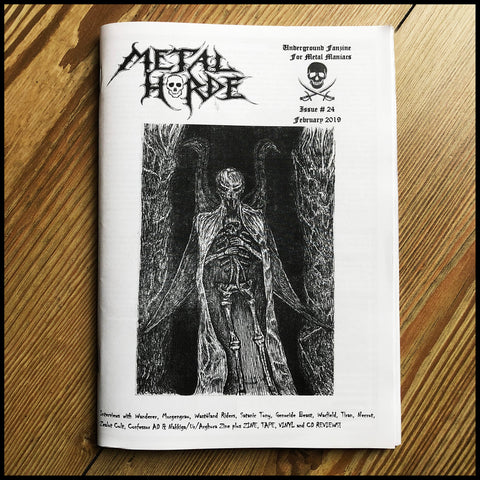 METAL HORDE fanzine issue 24